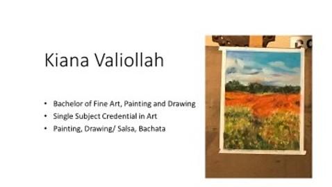 Kiana Valiollah/Art