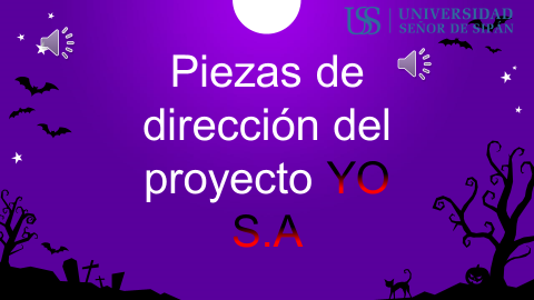 Piezas de dirección del proyecto YO SA