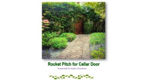 Rocket Pitch for Cellar Door