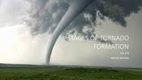 Stages of Tornado formation