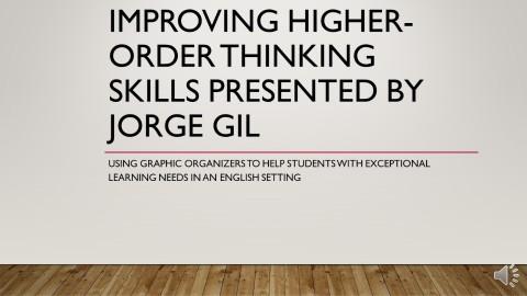 Higher order thinking skills