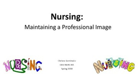 The Professional Image of Nursing