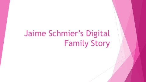 SPED 428 Digital Family Story