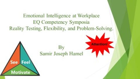 EQ Competencies: Reality Testing, Flexibility, and Problem-Solving