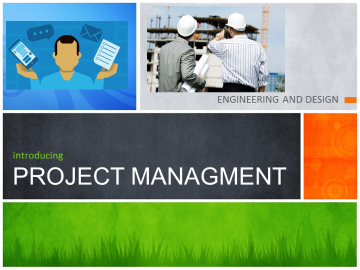 STEM: Intro to Project Management