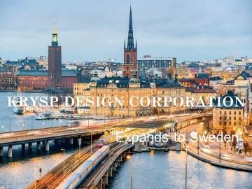 Krysp Design Corporation's Expansion to Sweden presented by Samantha Woods