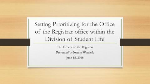 Juanita Womack Executive Summary Presentation