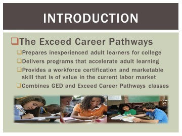 Final Project: The Exceed Career Pathways Program