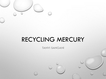 Recycling Mercury