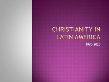 Christians In Latin America