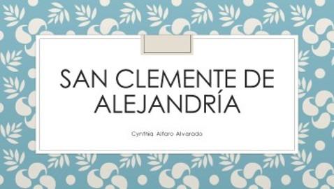 San Clemente de Alejandría