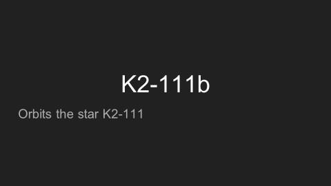K2-111b