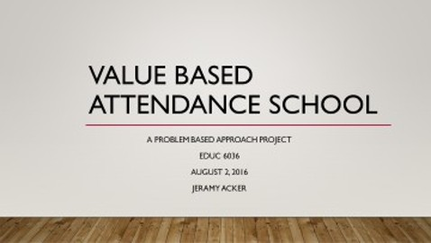 Value Based Attendance School