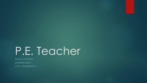 P.E Teacher