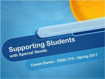Inclusion Strategies for Students with Special Needs