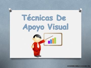 TÉCNICAS DE LOS APOYOS VISUALES