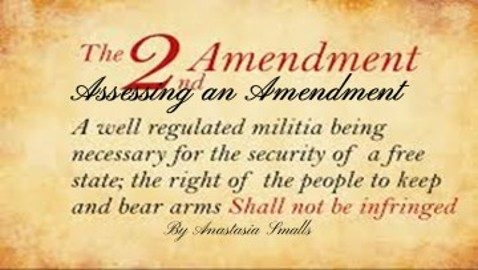 Assessing the 2nd Amendment