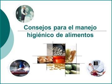Consejos para el manejo higiénico de alimentos