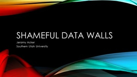 Shameful Data Walls