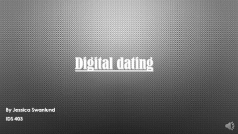 Digital Dating