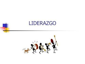 ASPECTOS GENERALES DEL LIDERAZGO