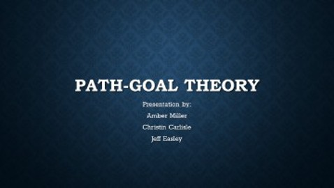 Path-Goal Theory II