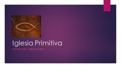 Iglesia Primitiva Pilar Casasa semana 10 178.3.18