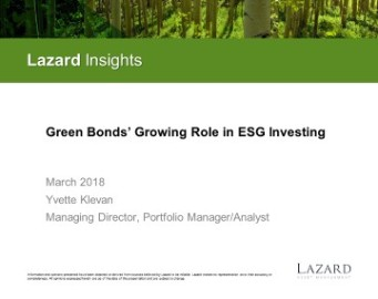 The Focus On Responsible Investing Has Grown Rapidly Over Past Decade And It Is Now Considered Mainstream In Many Parts Of World To Incorporate