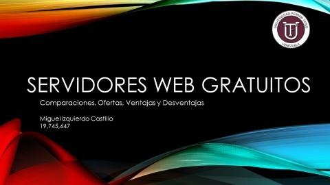 Servidores Web Gratuitos