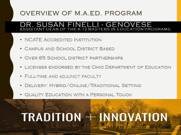 MAED Virtual Open House