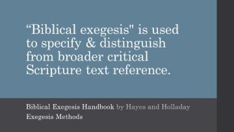 Biblical Exegesis Eight Types of Biblical Criticism by Danny Croasmun